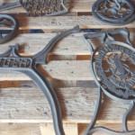 Kieffer - aerogommage - realisations - mobilier - metal
